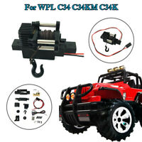 RCtown WPL Automatic Winch For 1/16 RC Car WPL C34 C34K C34KM