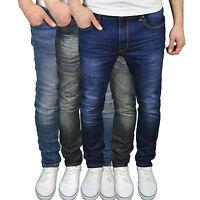 Soulstar Mens Designer Branded Slim Fit Jeans, Available in 3 Colours BNWT