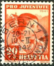 "SWITZERLAND - SVIZZERA - 1941 - ""Pro Juventute"". Personaggi - Costumi - 20 + 5 c"
