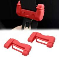 Car Safty Accessories Seat Belt Buckle Clip Silicone Anti-Scratch Cover *1 ~