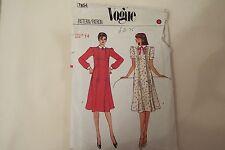 Vintage Vogue 1970s+ dress pattern No.7854 size 14