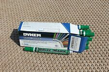 Dykem Brite Mark PAINT MARKERS 12 Pack (GREEN)