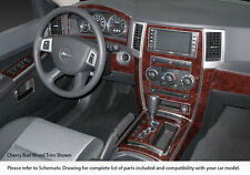 PREMIUM DASH KIT 43 PCS FITS JEEP GRAND CHEROKEE 2008-2010 WOOD OR ANY COLOR