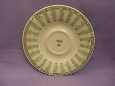 "Pfaltzgraff Naturewood Stoneware Replacement Saucer 6 3/4"" cream & green"