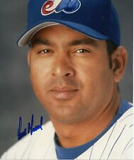 ORLANDO MERCED  MONTREAL EXPOS  SIGNED AUTOGRAPHED 8X10  PHOTO