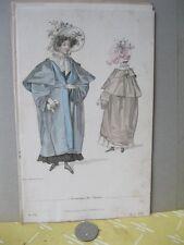 Vintage FASHION Print,MANTEAU DE SAISONO,Plate 92