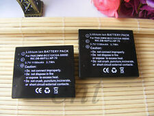 2x Battery For CGA-S005 Panasonic Lumix DMC-LX2 DMC-LX3 DMC-LX3E DMC-FS1 DMC-FS2