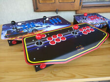 Plancia arcade metallo + stampa per console retrogaming PI3 PI4 Arcade Retropie