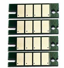 4 x Toner Chip For Ricoh Aficio SP3400N/3410SF/3410DN /3500SF/3510DN 406465