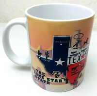 The Lone Star State Texas Souvenir Coffee Mug Cup by PCF Souvenir Collection