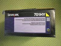 Refurbished High Yield Yellow Toner for Lexmark CS310 CS410 CS510 701HY 70C1HY0