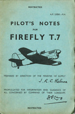 FAIREY FIREFLY RARE MANUALS Mk 7 9 T7 U9 FLEET AIR ARM archived from originals