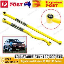 For Toyota Land Cruiser 80 100 105 Series Adjustable Panhard Rod Bar Front+Rear
