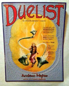 Duelist Magazine Issue #1  Magic the Gathering Wizards of the Coast Excellent!