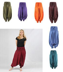 Hippy Drop Crotch Harem Pants Festival Clothing