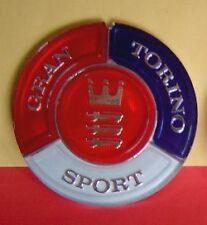 73 74 Ford Gran Torino Sport Trunk Lock Emblem Insert