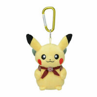 Pokemon Center Japan Official PIKACHU ADVENTURE Keychain Plush Mint USA Seller