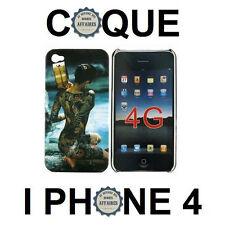 "COQUE PROTECTION IPHONE 4 BACK CASE DESIGN "" FEMME JAPONAISE TATOUEE AU TAMIS """