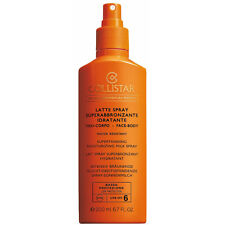 COLLISTAR LATTE SPRAY SUPERABBRONZANTE IDRATANTE SPF 6 - 200 ml