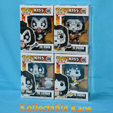 KISS - KISS Set of Four Pop! Vinyl Figures