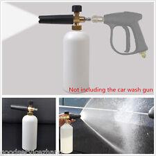 "1/4"" F Inlet Adjustable Snow Foam Lance Washer Soap Pressure Bottle Car Wash Gun"