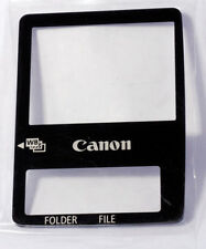 Canon LCD Protective Display Window for EOS 1D MK II /1DS MK II 2 CB3-1417-000