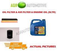 PETROL OIL AIR FILTER + FS PD 5W40 OIL FOR FIAT GRANDE PUNTO 1.4 77 BHP 2005-12
