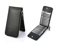 Genuine Leather Clutch Wallet Credit Card Holder Mobile Cellphone Bag Coin Purse