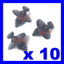 PLASTIC RIVET FASTENER CLIPS BUMPERS WHEEL ARCH TRIM LINER LINING x10 FOR NISSAN