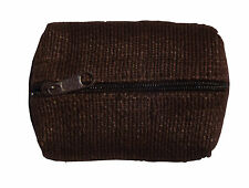 Brown Green Breeze Imports Natural-Fiber Abaca Coin Purse