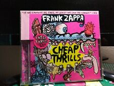 Cheap Thrills - Frank Zappa (Ryko Records, 1998, CD)