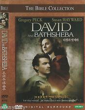 The Bible - David and Bathsheba - Gregory Peck Susan Hayward. (NEW)