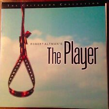 The Player - Criterion Laserdisc free shipping for 6