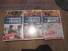 CASSETTE VIDEO VHS LES LIBERATIONS DE LA FRANCE tome 1 2 3 NEUF SOUS FILM 39/45