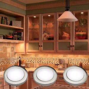 Kitchen LED Cabinet Light Under Cupboard Cool Warm White Dimmable Mains 240V