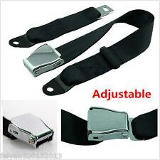 Adjustable Car Airplane Seat Safety Belt Seatbelt Extention Seat Belt 850-1350mm