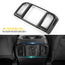 Carbon Fiber Inner Rear Air Vent Outlet  Cover Trim For Ford F150 F-150 15/16/17