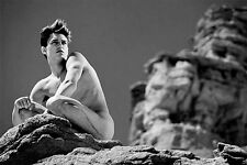 HELMUT NEWTON rare EROTIC nude male 8x11 Photo reprint BUY 2, GET 1 FREE