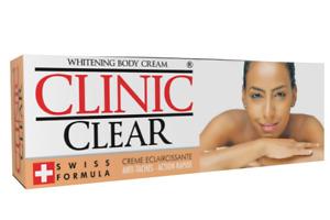 Clinic Whitening Cream Clear Tube 50g