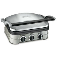Cuisinart GR-4N Multifunctional Griddle, Grill and Panini Press