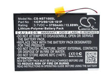 New Battery for Nuvision Nuvision 10.1 TM1088C Replace Nuvision 1ICP3/90/1281S1P