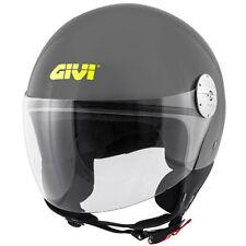Casco Demi-jet Helmet Capacete Givi 10.7 Mini-J Grigio Lucido TAGLIA XL