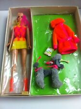 WALKING JAMIE FURRY FRIENDS GIFT SET SEARS EXCLUSIVE VINTAGE BARBIE NRFB MIB MIP