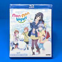Non Non Biyori Blu-ray Complete Anime Series Collection Season 1 + 2 Repeat
