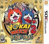 Yo-Kai Watch 2: Fleshy Souls Nintendo 3DS Brand New Sealed