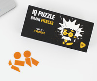 11 Different IQ Puzzle - Brain Teasers - Jigsaw Puzzle - Gift - Funny