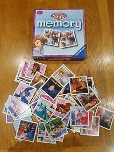 Ravensburger Disney Princess Sofia Memory Game
