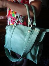 GEORGE GINA & LUCY - BORSA PELLE VERDE