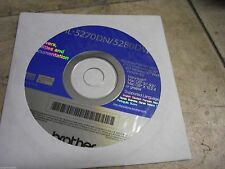 New! Genuine Brother HL5270 HL5280 Series Printer CD Software Drivers Utilities