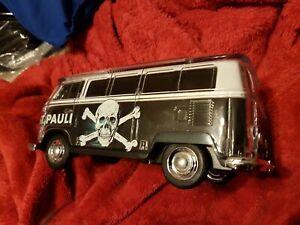 VW T1Kult BULLI St Pauli Bluetooth Lautsprecher LED BT,MP3,USB,Radio Party Box